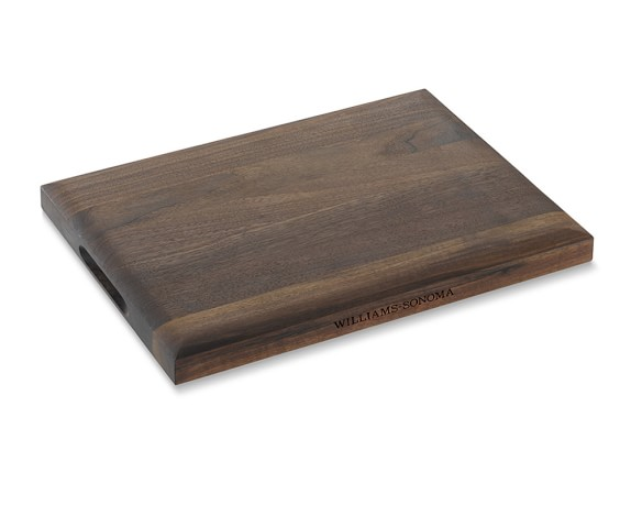 Williams Sonoma Edge-Grain Cutting Board, Walnut, Small