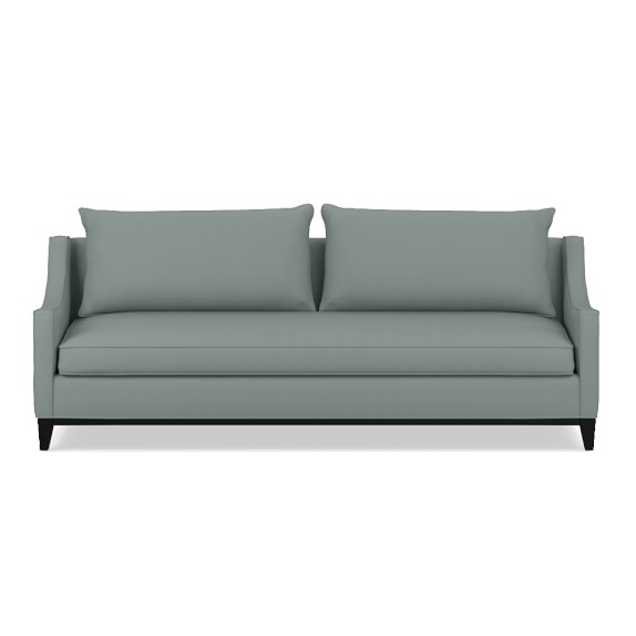 Presidio 94in Sofa with Standard Cushion, Brushed Canvas, Mist