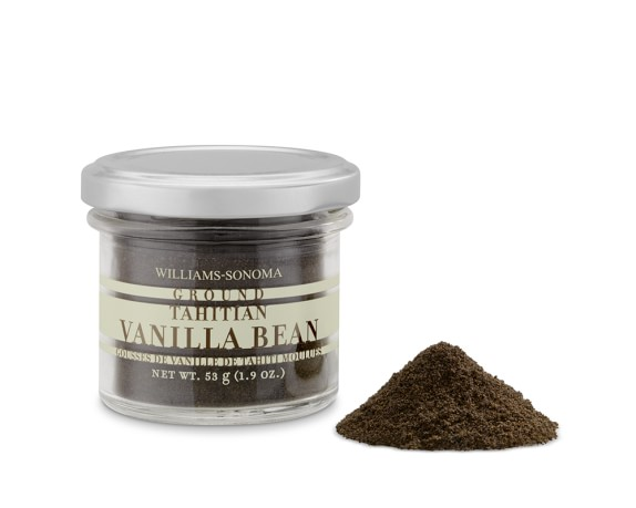 Williams Sonoma Ground Tahitian Vanilla Bean