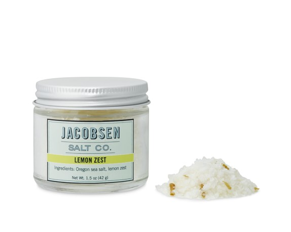 Jacobsen Salt Co. Lemon Zest Flake Salt