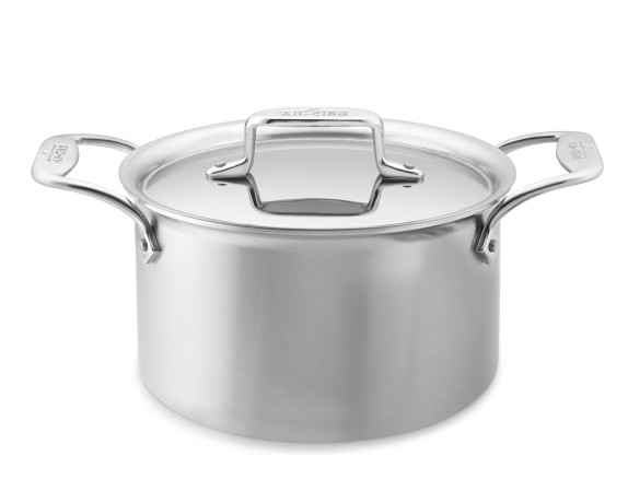 All-Clad d5 Brushed Stainless-Steel 4-Qt. Soup Pot