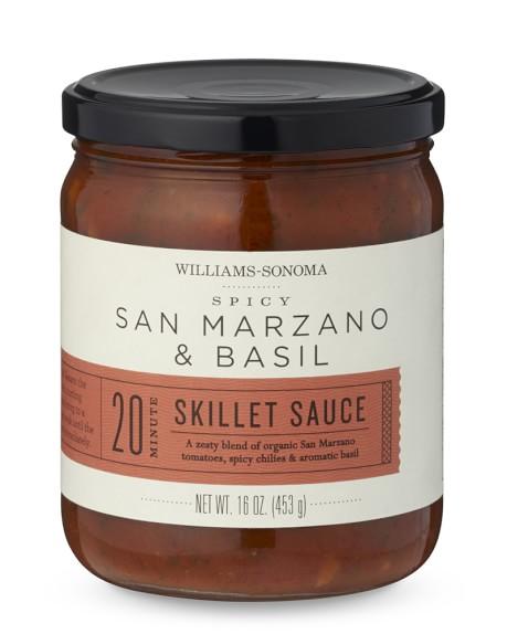 Williams Sonoma Skillet Sauce, Spicy San Marzano Tomato & Basil