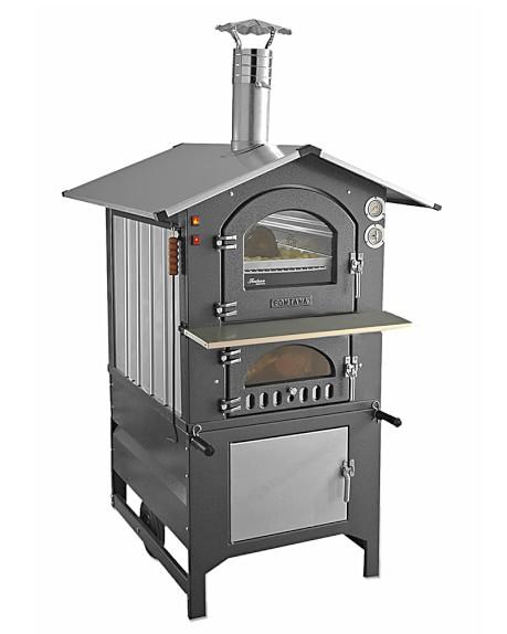 Fontana Gusto 80AV Wood-Fired Outdoor Oven