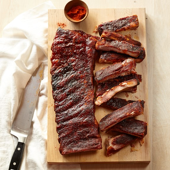 Williams Sonoma BBQ Rack of Ribs with Dry Rub