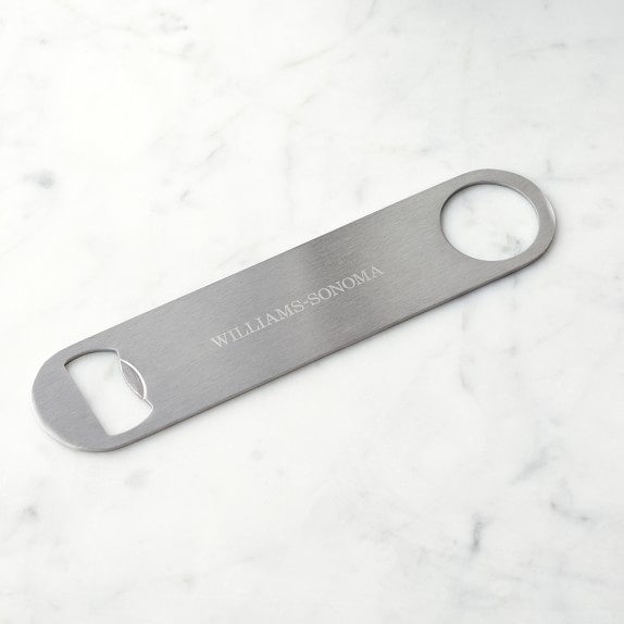 bartenders stainless steel bottle opener williams sonoma. Black Bedroom Furniture Sets. Home Design Ideas