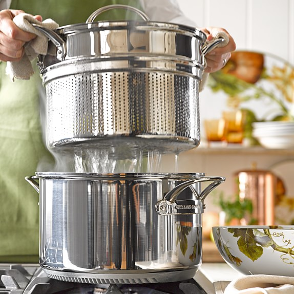 Williams Sonoma Stainless-Steel Rapid Boil Pot, 8-Qt.