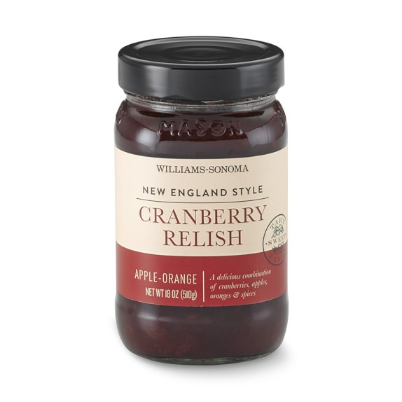 Williams Sonoma Apple-Orange Cranberry Relish