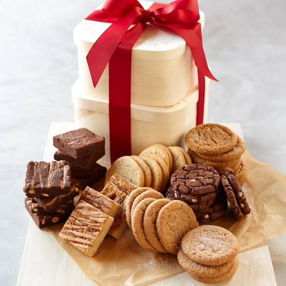 Brownie and Cookie Gift Tower