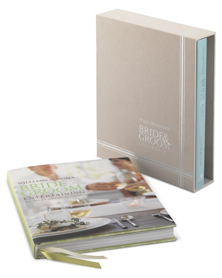 Williams Sonoma Bride and Groom Cookbook Box Set