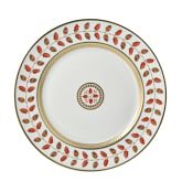 Bernardaud Constance Red Dinner Plate