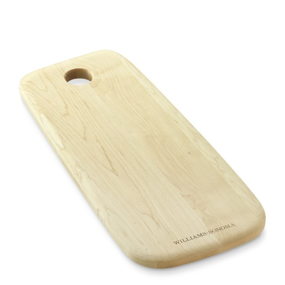 Williams Sonoma Bread Board without Handle, Maple