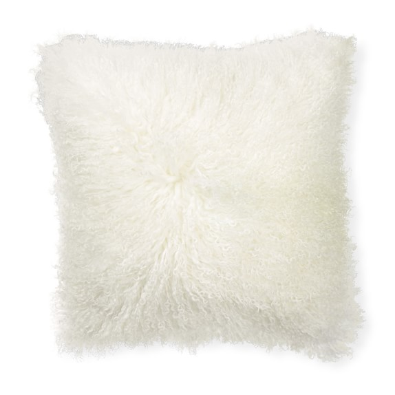 Mongolian Lambswool Pillow Cover, 20