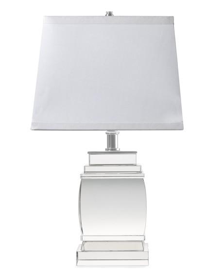 Petite Square Crystal Lamp