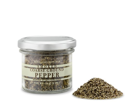 Williams Sonoma Spice, Smoked Coarse Ground Pepper