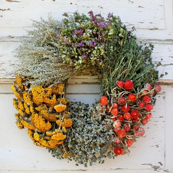 Floral Herb Wreath, 14