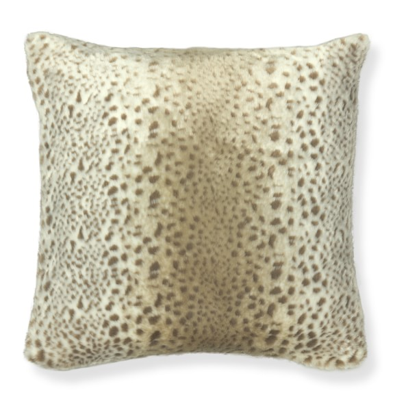 Faux Fur Pillow Cover, 22