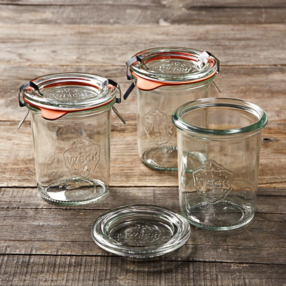 Weck Mold Jars, 5.4oz, Set of 12