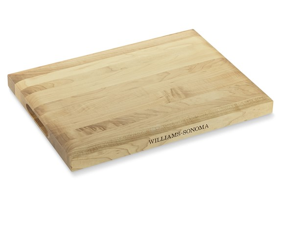 Williams Sonoma Edge-Grain Cutting Board, Maple, Small