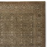Moon Tree Hand Knotted Rug Swatch, Dusk