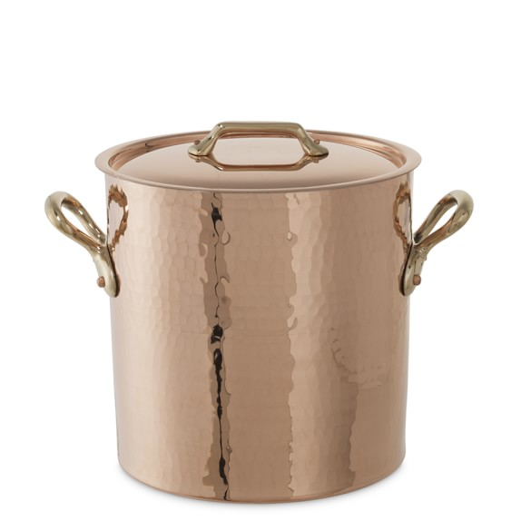 Mauviel Copper Stock Pot, 9 1/2