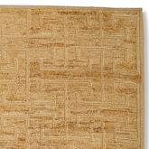Greek Key Wool/Jute Rug Swatch, Textured