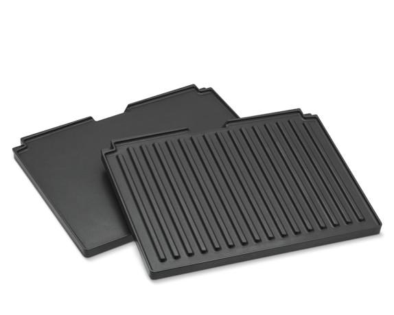 Breville Smart Grill Removable Griddle & Grill Plate Set, Model # BGR820FP and BGR820RP