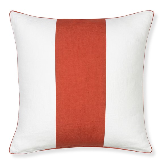 Wide Stripe Pillow Cover, 20