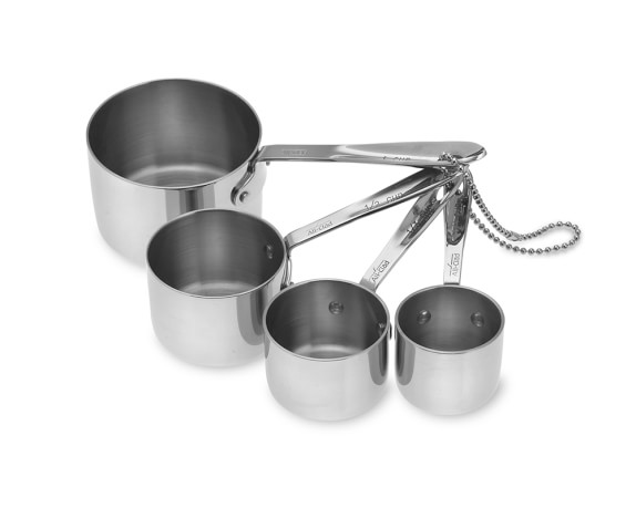 All-Clad Stainless-Steel Measuring Cups
