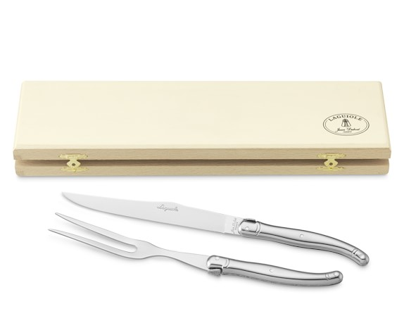 Laguiole Jean Dubost Stainless-Steel Carving Set