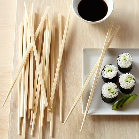Bamboo Table Chopsticks, Set of 10