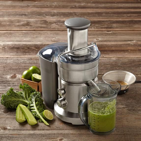 Breville Juice Fountain Duo Juicer, Model # BJE820XL