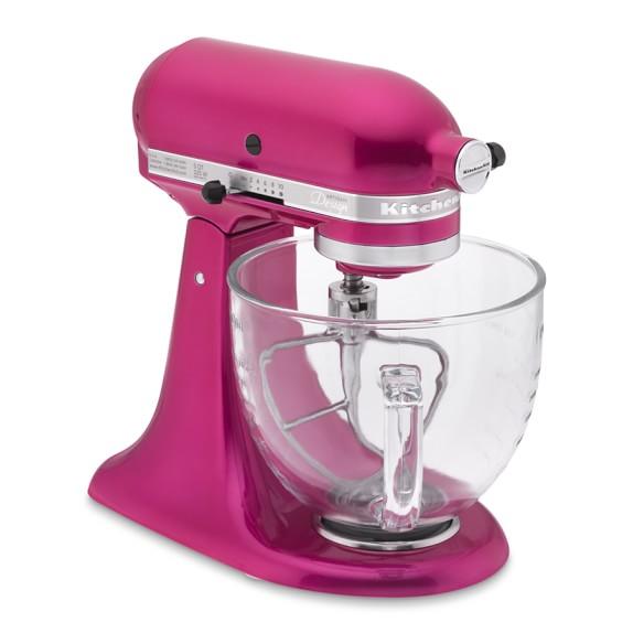KitchenAid® Design Series Stand Mixer, Raspberry Ice