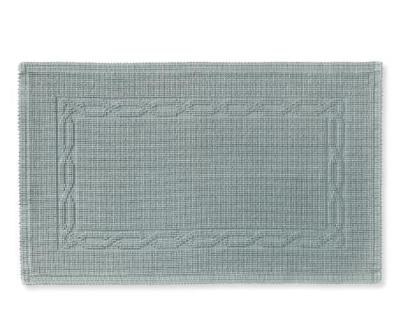 Chambers® Heritage Solid Bath Rug, Greymist
