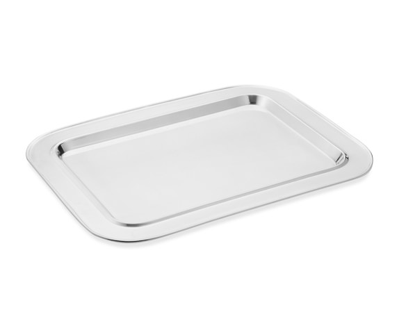 Presidio Silver Plated Large Rectangular Tray
