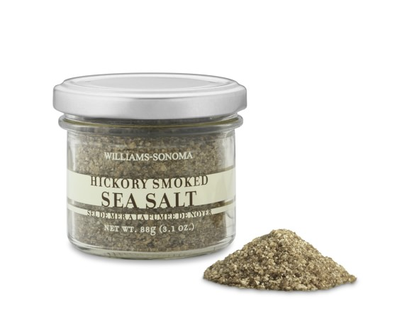 Williams Sonoma Hickory Smoked Sea Salt