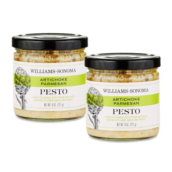 Williams Sonoma Pesto Artichoke Parmesan Sauce, Set of 2