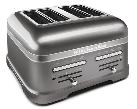 KitchenAid® Pro Line® 4-Slice Toaster, Medallion Silver