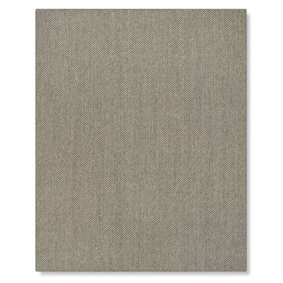 Canyon Sisal Rug, 2x2', Quartz, Serged Edged