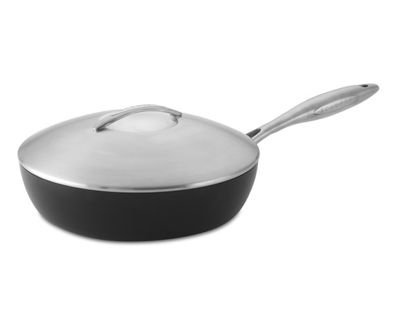 ScanPan Professional Nonstick Sauté Pan with Lid, 2 1/2-Qt.