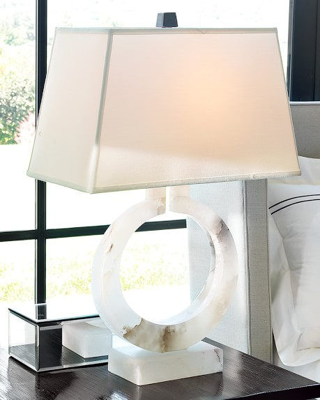 Madison Lamp, Alabaster