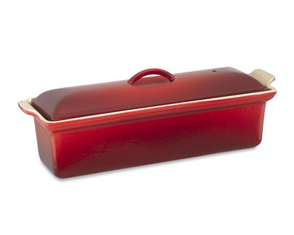 Le Creuset Cast-Iron Pâté Terrine, Red
