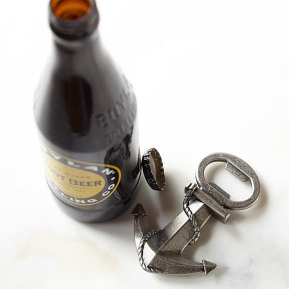 Novelty Handheld Bottle Opener, Anchor