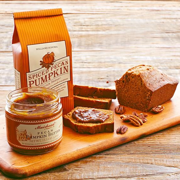 Williams Sonoma Spiced Pecan Pumpkin Quick Bread Mix & Pecan Pumpkin Butter Set
