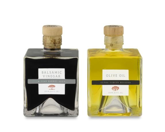 Olivier Olive Oil & Balsamic Vinegar Cruet