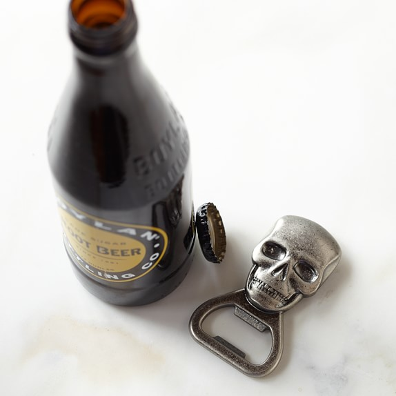 Novelty Handheld Bottle Opener, Skull
