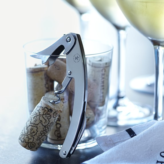 Williams Sonoma Open Kitchen Waiter's Corkscrew Wine Opener