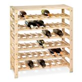 Swedish Shelving 54-Bottle Wine Rack