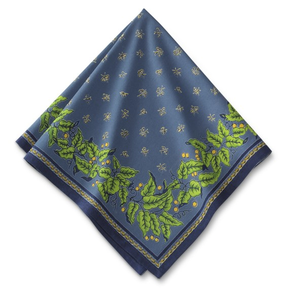 Provence Napkins, Blue, Set of 4