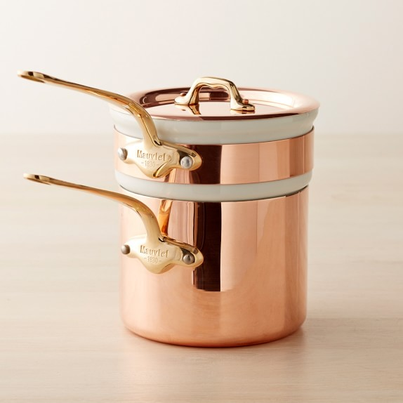 Mauviel Copper Double Boiler