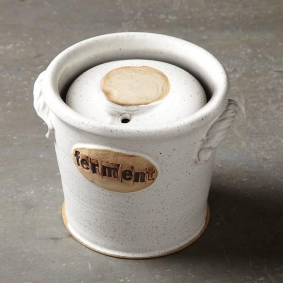 Hand Thrown Fermentation Pot